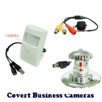 Hidden Covert Restaurant Surveillance Cameras