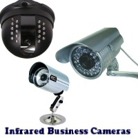 Restaurant Infrared IR Night Vision Indoor and Outdoor Security Cameras