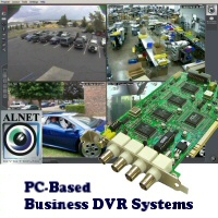 PC-Based Restaurant Security Camera DVR Systems and DVR Cards